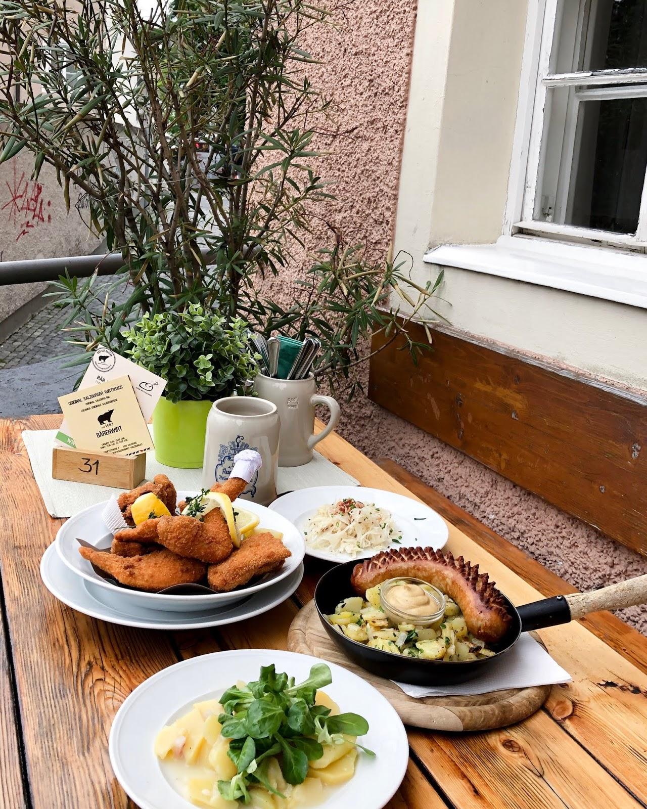 Salzburg Itinerary Barenwit Schnitzel Salzburg itinerary Food to eat