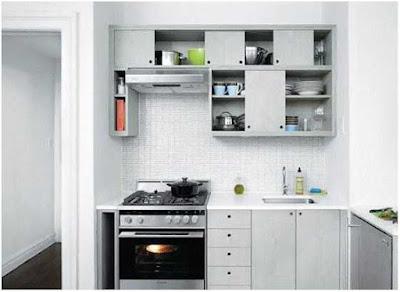 menata dapur sederhana dan rapi