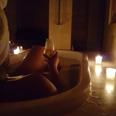 Omotola Jalade-Ekeinde shares sexy bathroom photo