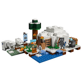 Minecraft The Polar Igloo Lego Set