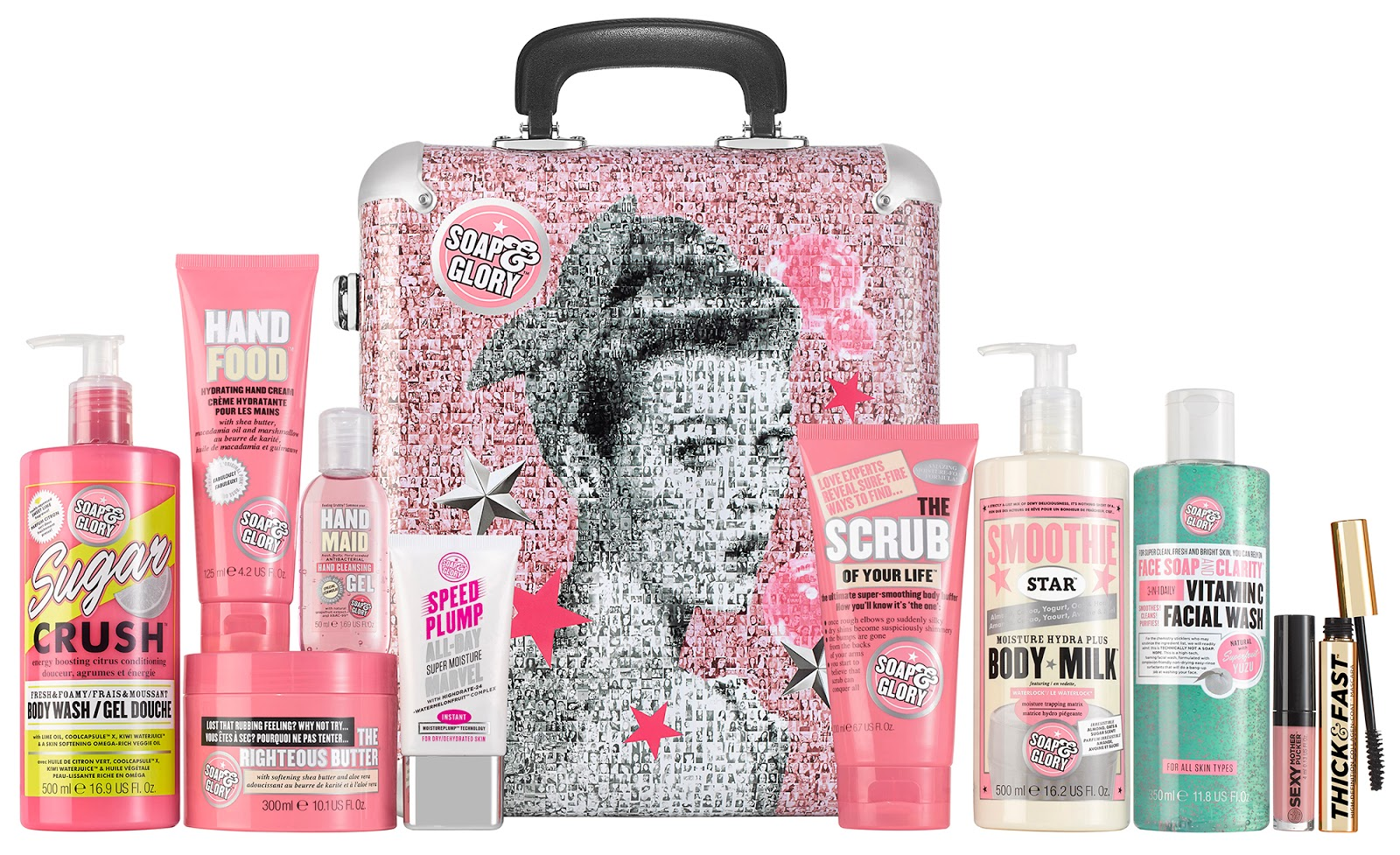 Soap & Glory The Whole Glam Lot star gift 2016 contents and review