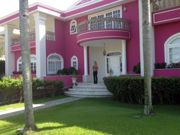 Construindo Minha Casa Clean Ambientes com Rosa Pink Amei