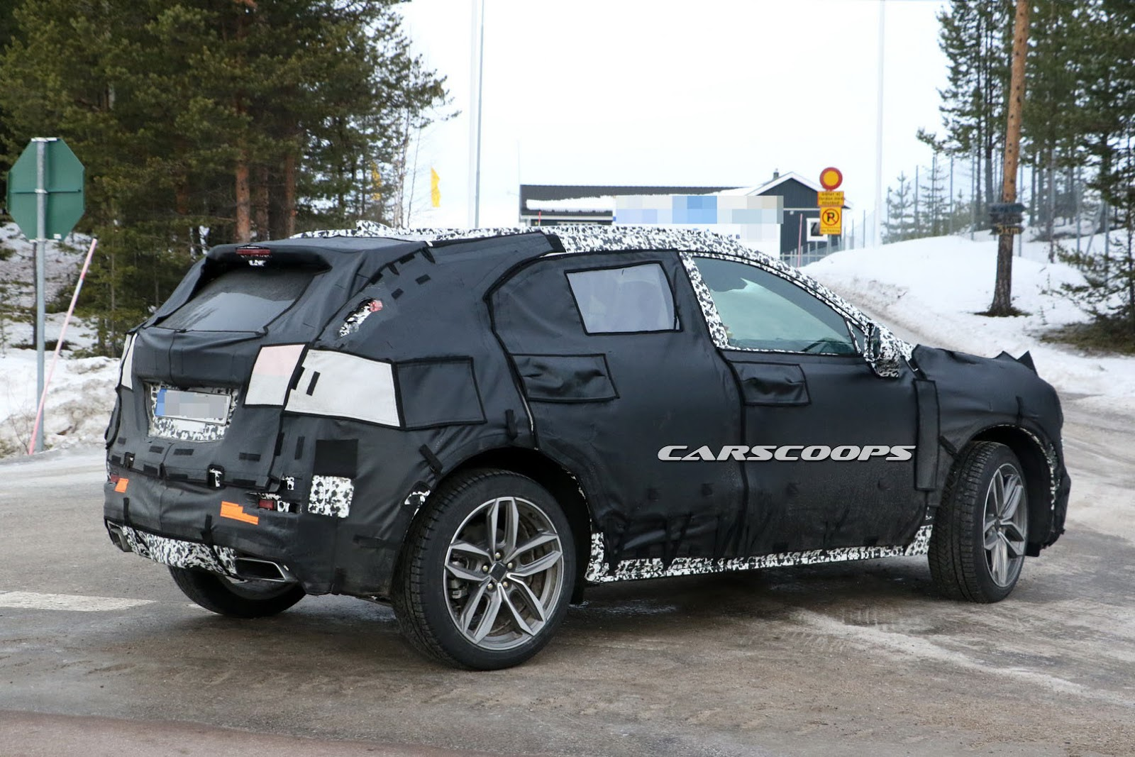 2018 Cadillac XT3 Compact SUV Spied: Better Late Than ...
