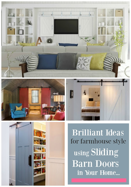 image result for ideas for sliding barn doors at home decorating