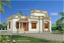 Low-Budget House Plan Kerala Style