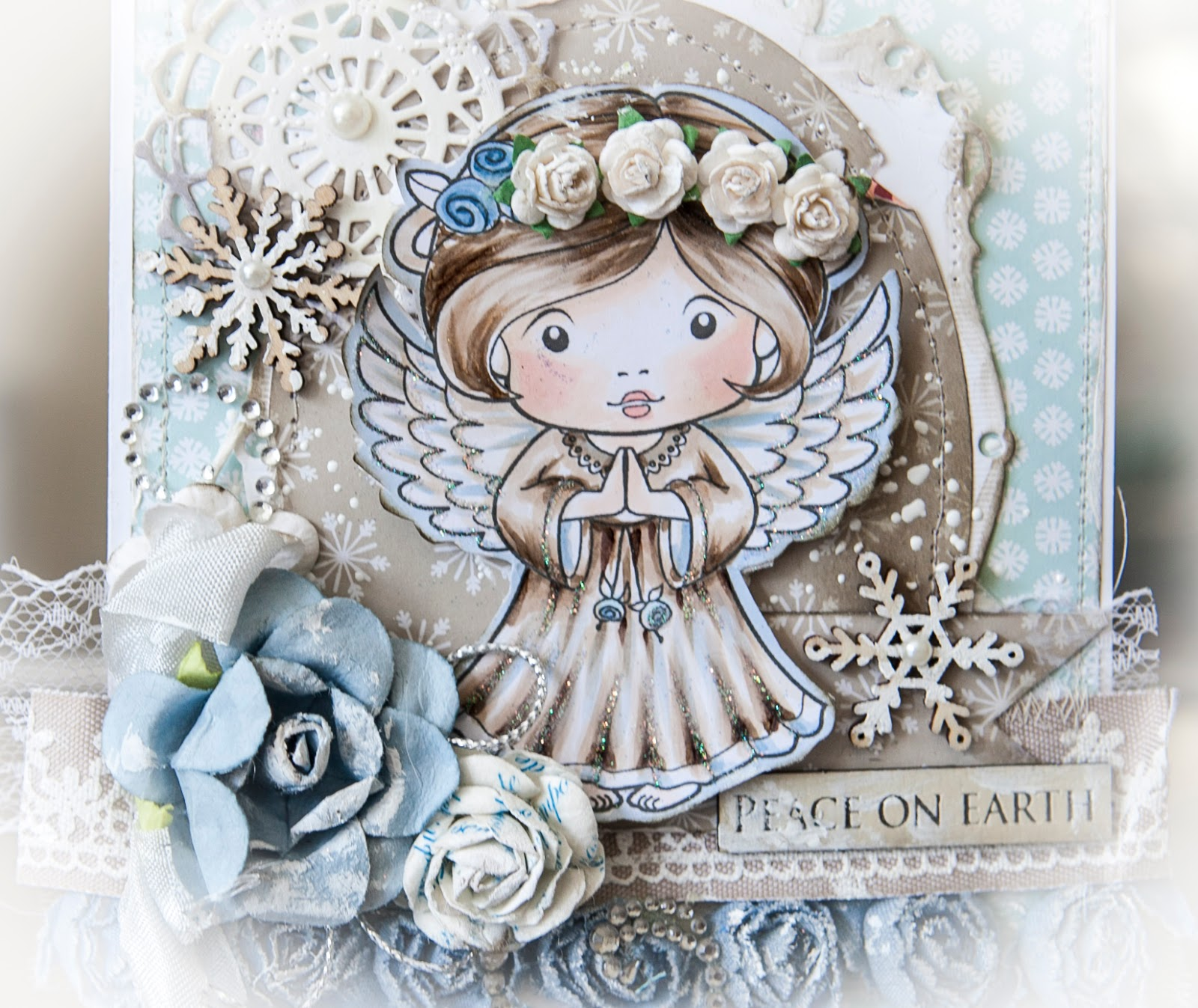 Creative Mayhem: Christmas Cards With Angel Marci From