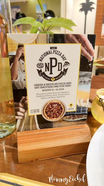 California Pizza Kitchen Philippines - National Pizza Day