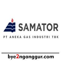 Lowongan Kerja PT Samator Gas Industri 2019