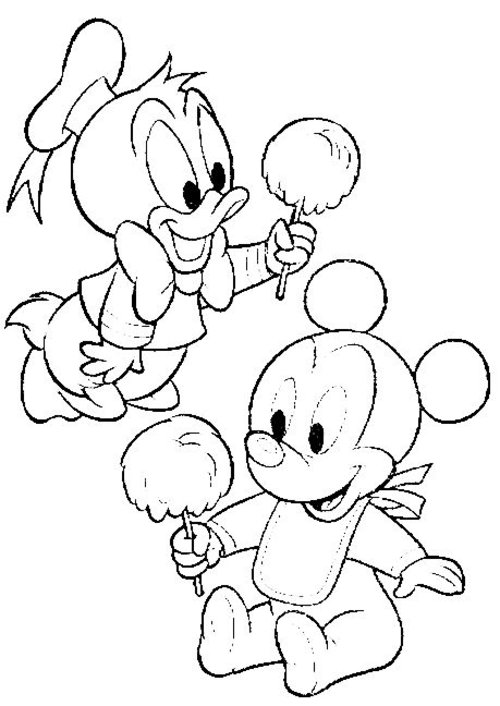 Disney Babies Coloring Pages For Kids >> Disney Coloring Pages