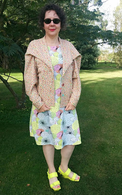 Creates Sew Slow: Vogue 2056 Issey Miyake Poppy's Patchwork Jacket