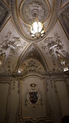 Recibidor del Palacio de Santoña