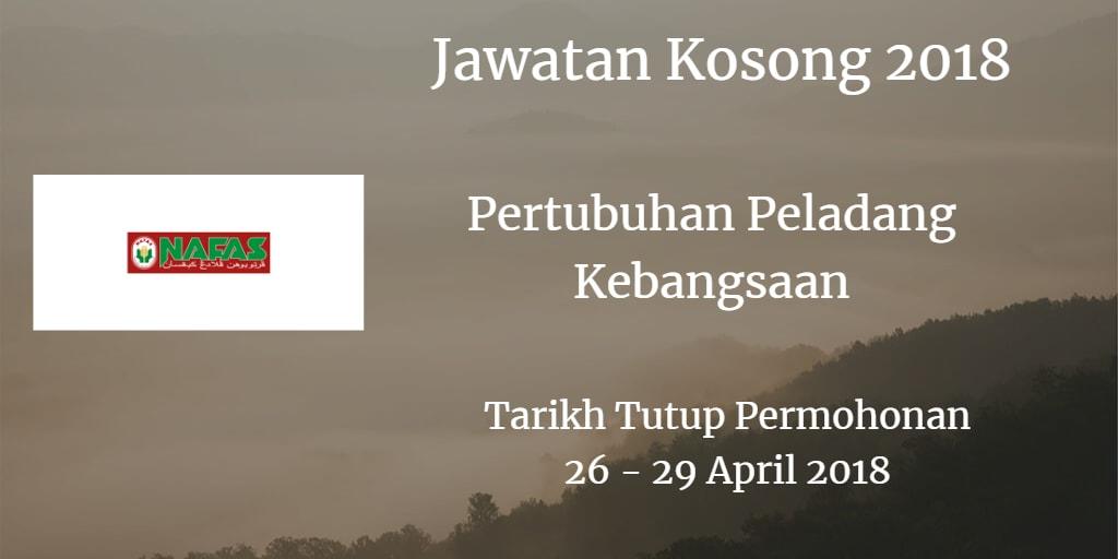 Jawatan Kosong Nafas 26 - 29 April 2018