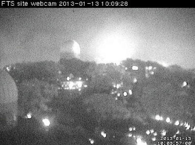 Australia S Siding Spring Observatory Fire Threat David
