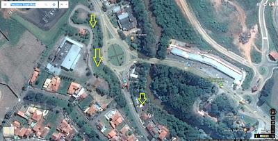 A chegada em Socorro é demarcada por uma rotatória onde o participante deve se manter à direita, pois se acessar a pista da esquerda seguirá para Bragança Paulista.