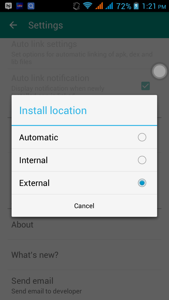 how to move apps from sd card to internal memory