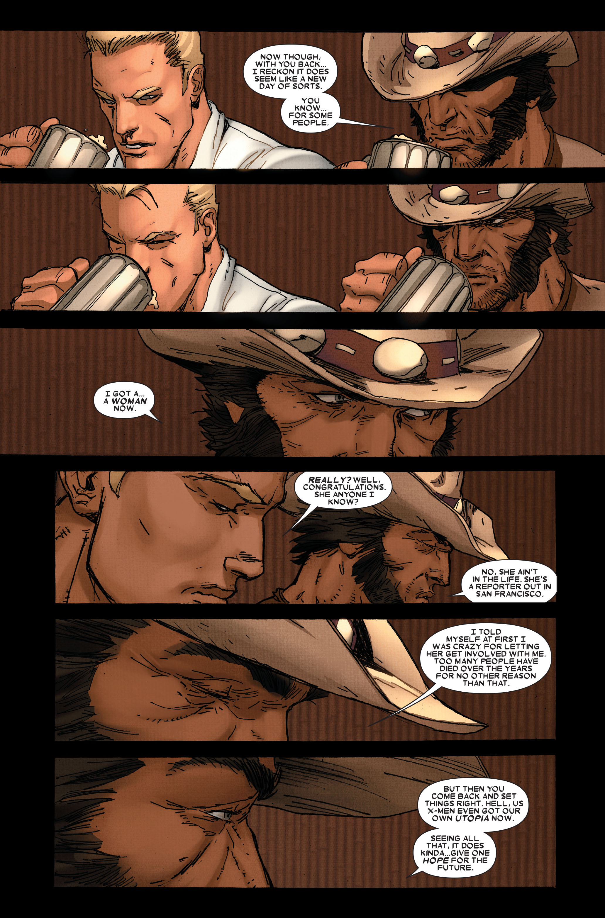 Read online Wolverine: Weapon X comic -  Issue #11 - 15