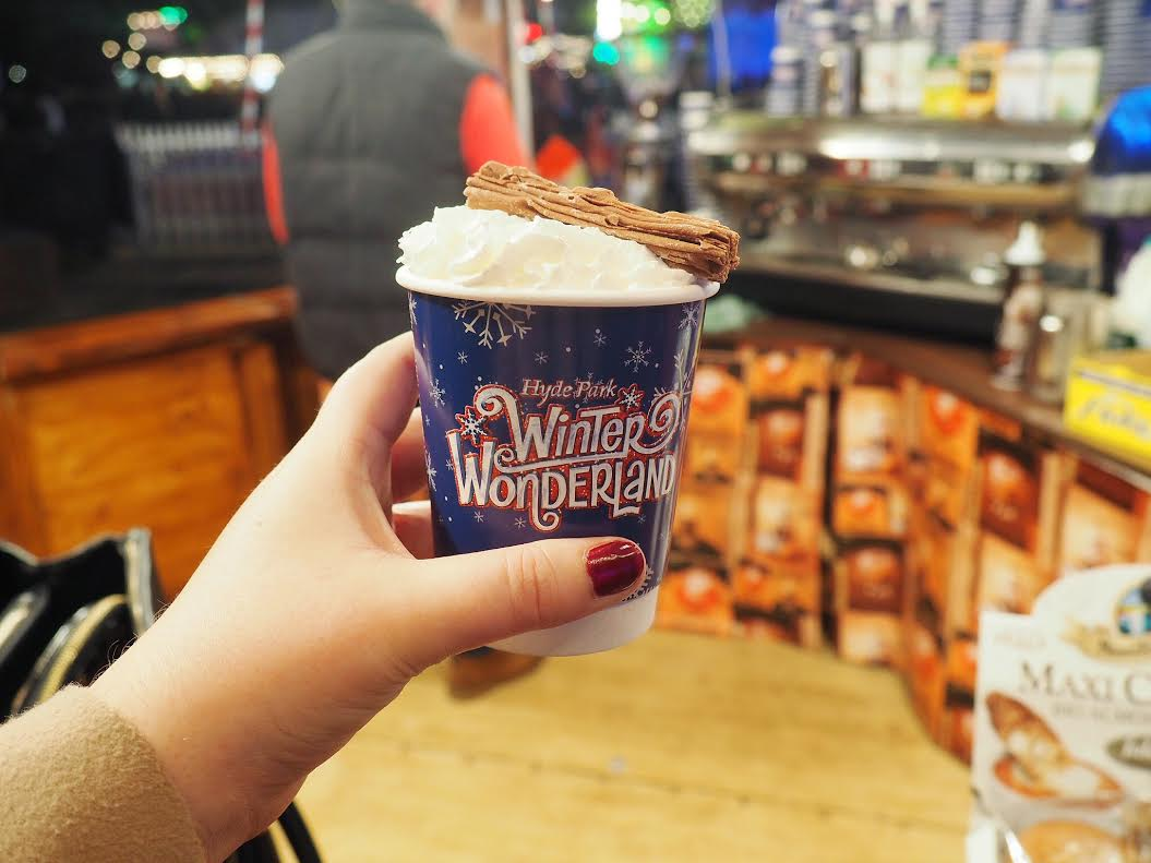 Winter Wonderland hot chocolate