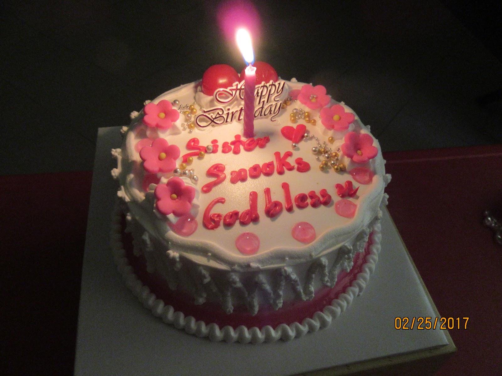 Cambodian Sistaa Week 36 Wisdom Teeth Birthday Cake And Cicfo