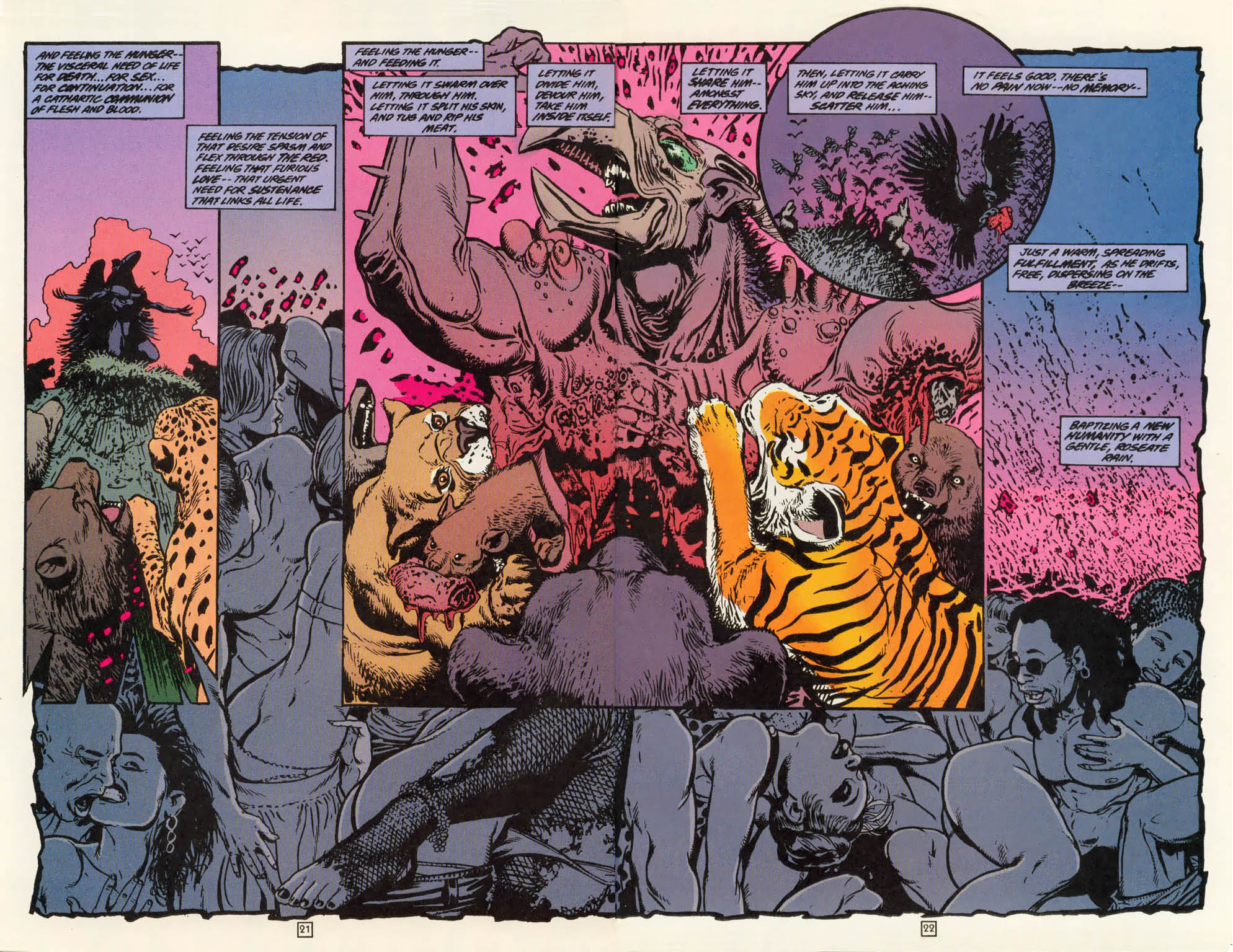 Read online Animal Man (1988) comic -  Issue #79 - 21