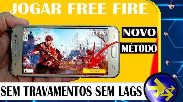 MÉTODO PARA FREE FIRE| TIRAR LAGS E TRAVAMENTOS