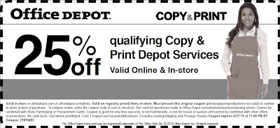 Office Depot Printable Coupons June 2014