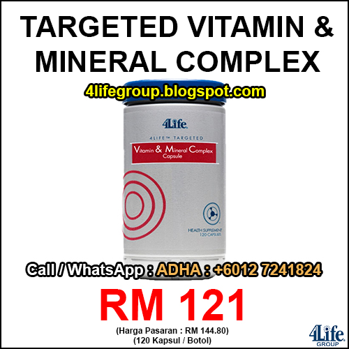 foto 4Life Targeted Vitamin & Mineral Complex