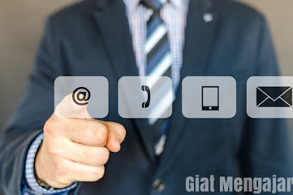 Cara simpel membuat contact us keren di blog