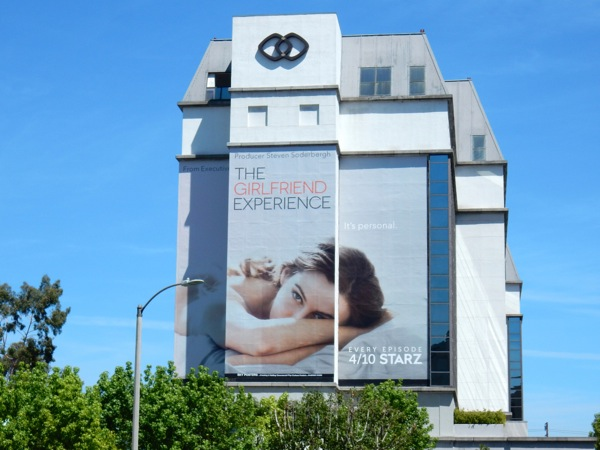 Girlfriend Experience giant series premiere billboard