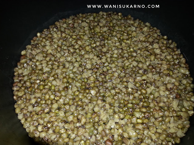 cara masak kacang hijau noxxa 15 minit