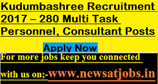 Kudumbashree-jobs-280-mts-personnel-Consultant-Posts