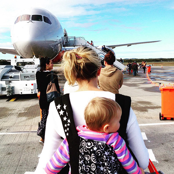 Karen was breastfeeding and Esmé was vaccinated before they left the UK - 1-Year-Old Has Been Travelling Around The World Since She Was Born