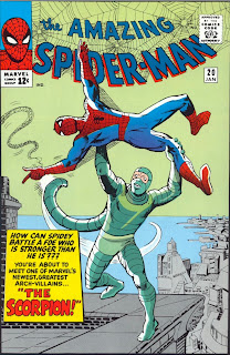 ASM cover to issue #20. First Appearance of the Scorpion