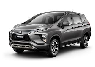 Mitsubishi Xpander Warna Titanium Grey Metallic