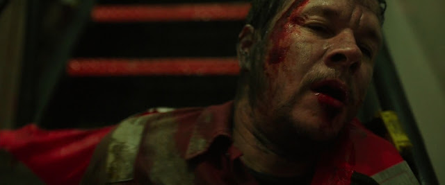 mark wahlberg has a ton of blood on him