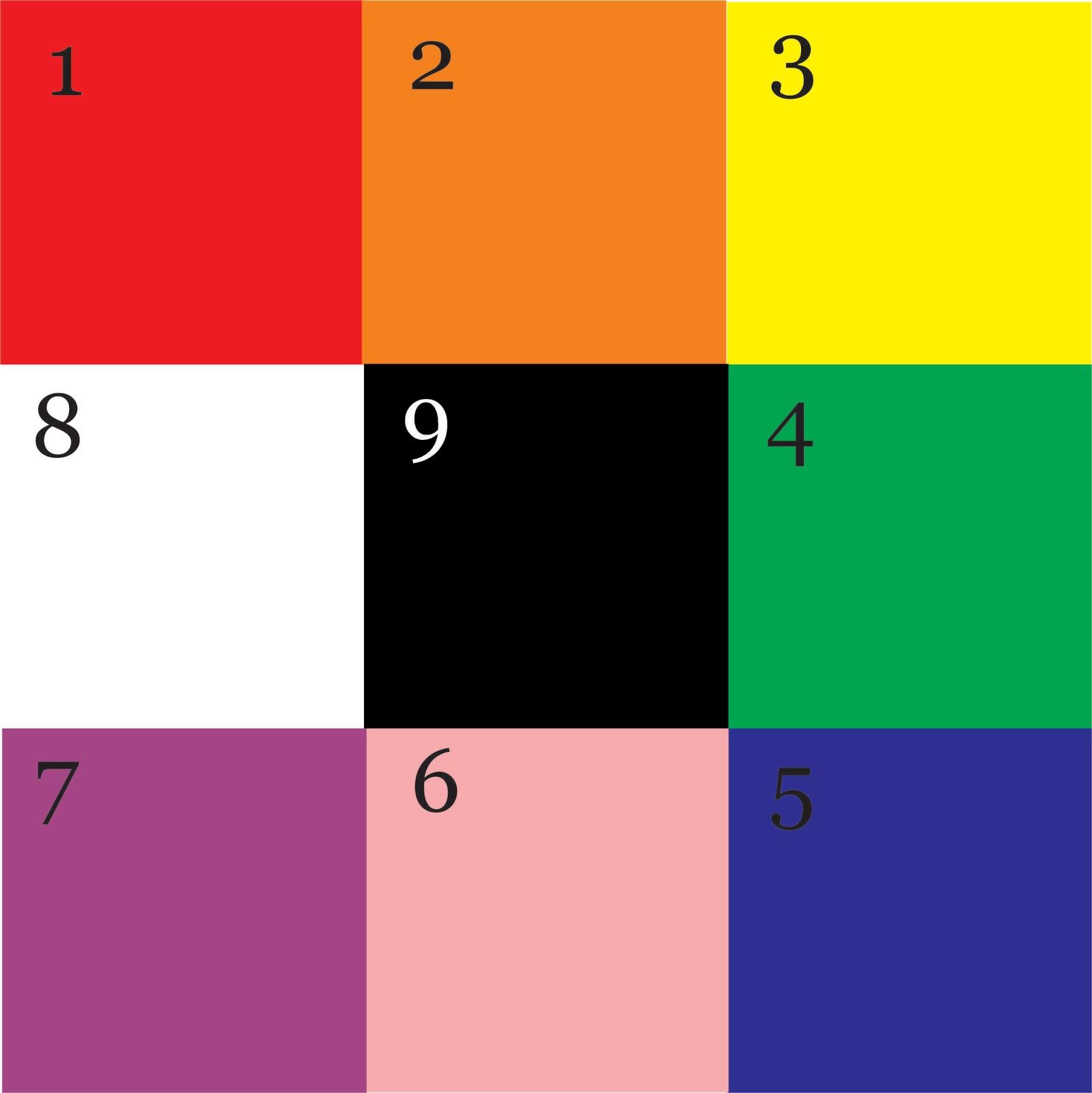 9 Warna Hitam Putih Mejikuhibiniu