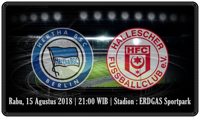 Image result for Hertha Berlin vs Hallescher FC