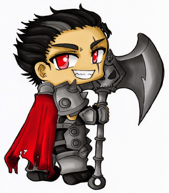 Darius chibi cartoon
