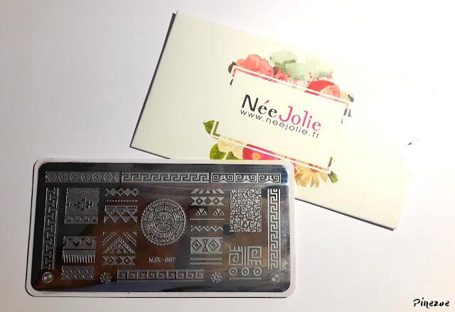 stamping Née Jolie NJX007