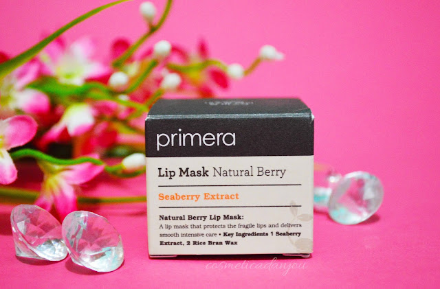 Primera Lip Mask Natural Berry Review