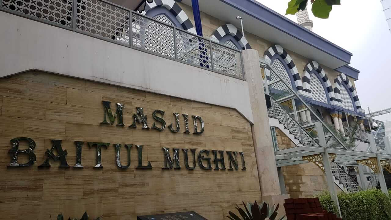 Masjid Baitul Mughni BJB Bandung Jl. Naripan / Braga