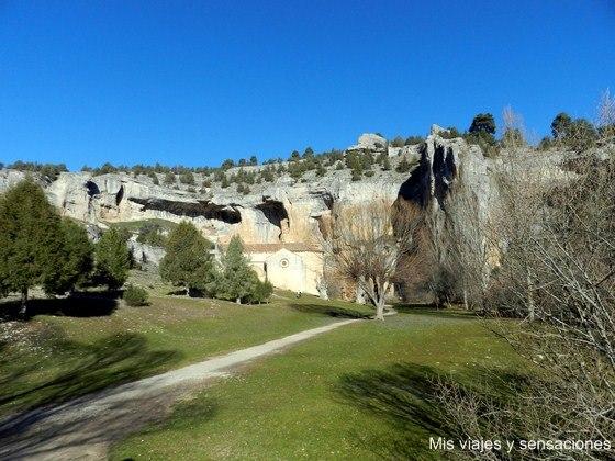 Ermita de San Bartolomé, Cañon del río Lobos