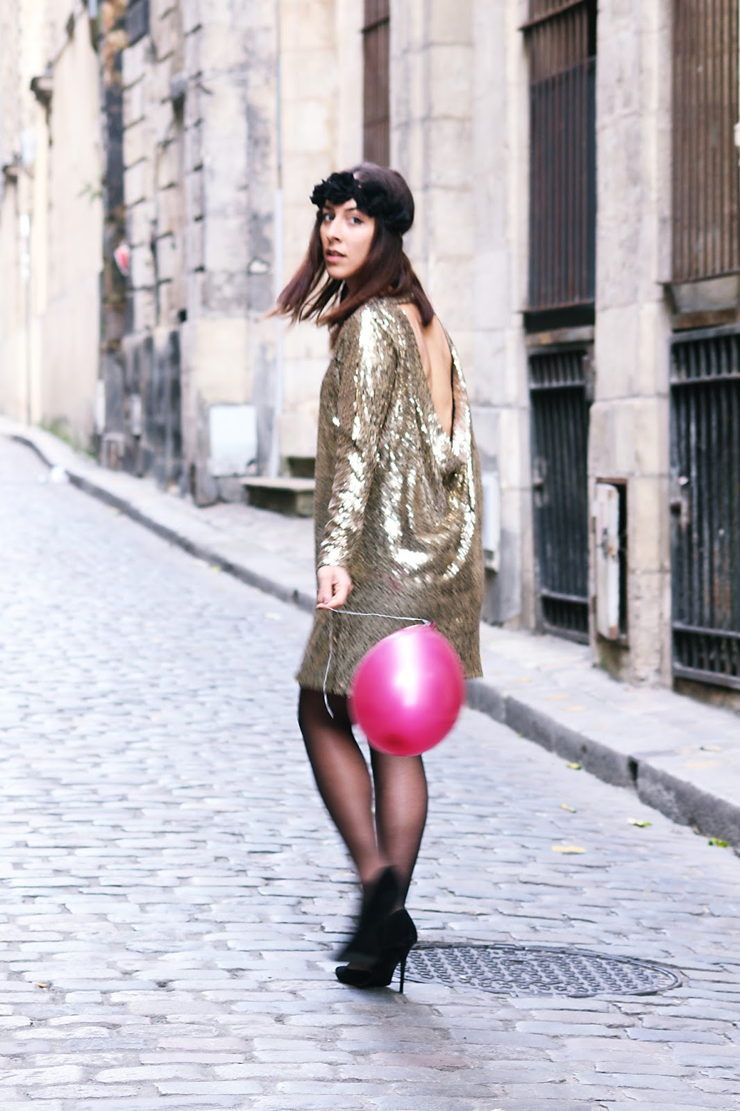 L'article à paillettes pour le New Year's Eve de Boohoo..