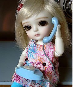 Cute Doll DP For Girls