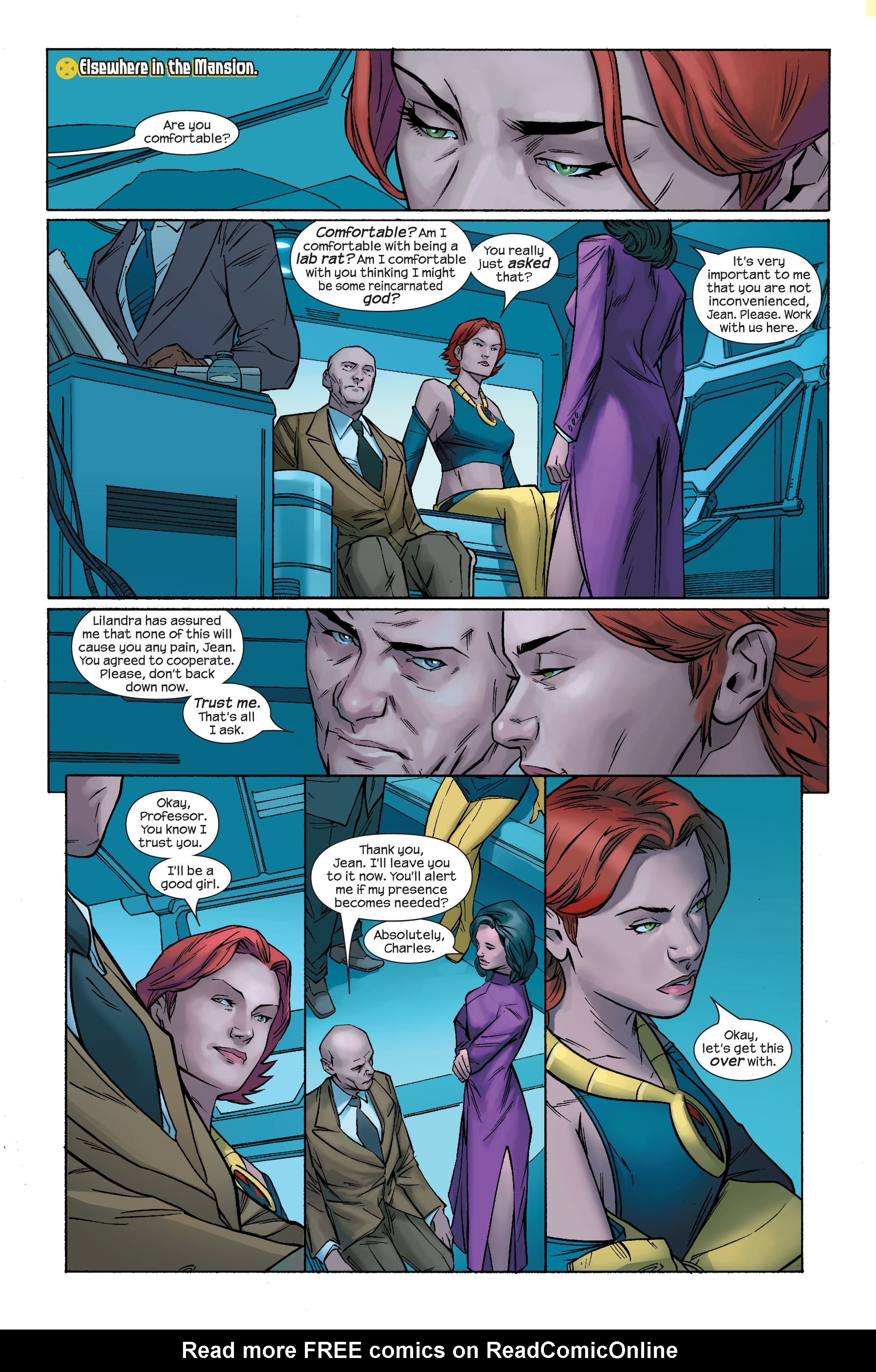 Read online Ultimate X-Men comic -  Issue #70 - 6