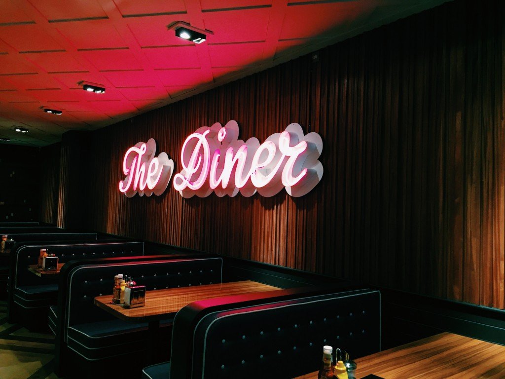 3 Tasty Places To Eat Burgers In London,UK the diner