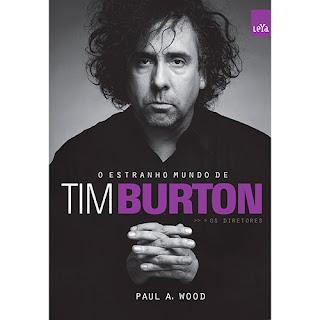 livro O Estranho Mundo de Tim Burton