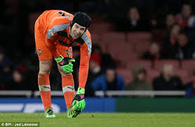 Cech bending down