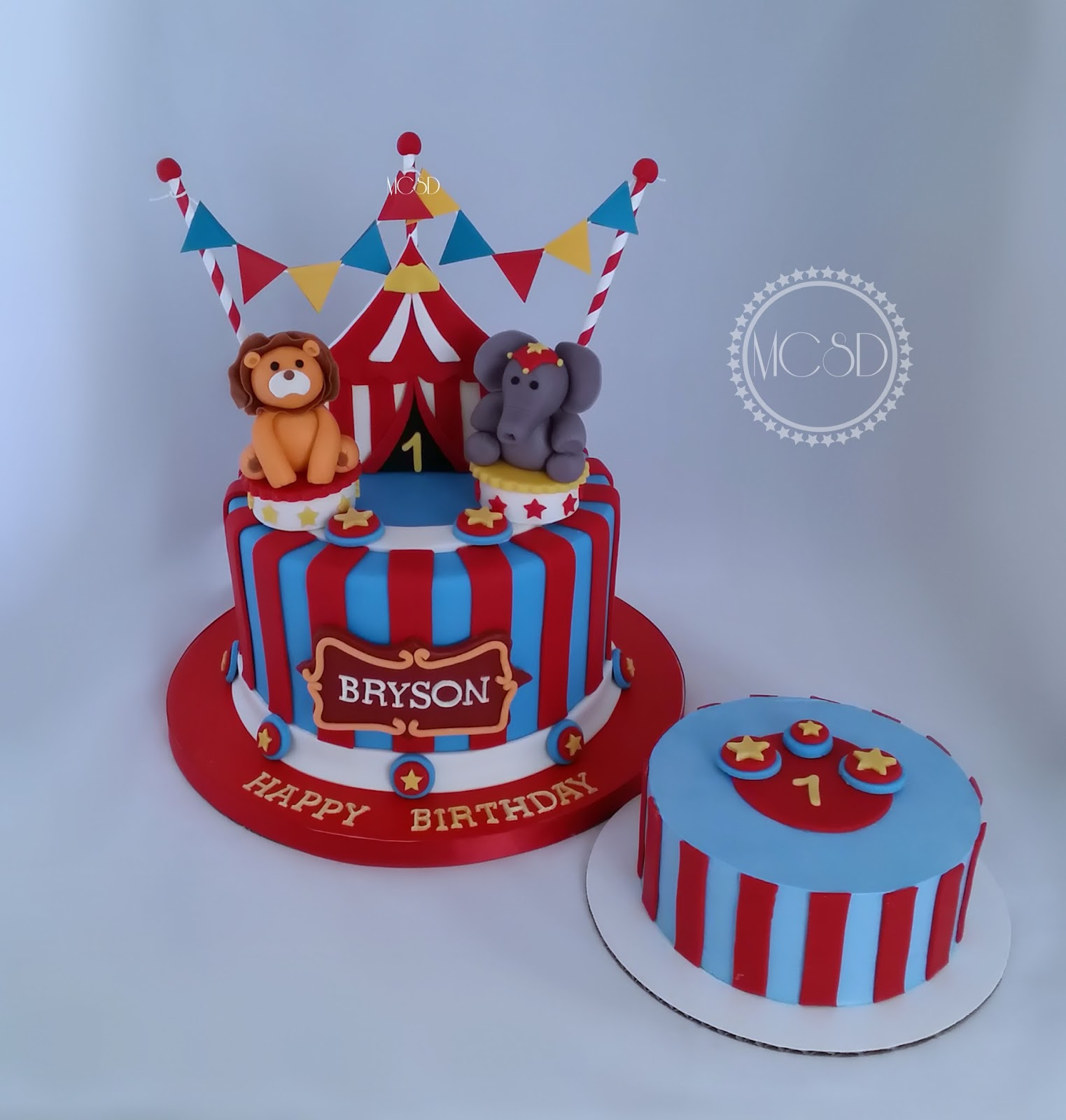 Phenomenal Cakesbyzana Carnival Circus 1St Birthday Cake Cake Pops Personalised Birthday Cards Bromeletsinfo