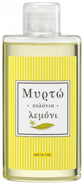 Mirto -  cheap & cheerful Greek lemon cologne