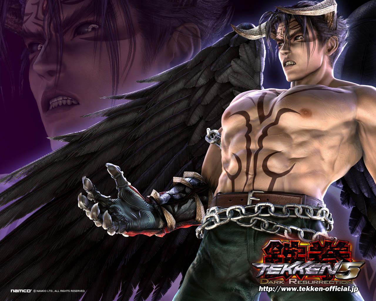 Tekken Universe Devil Jin